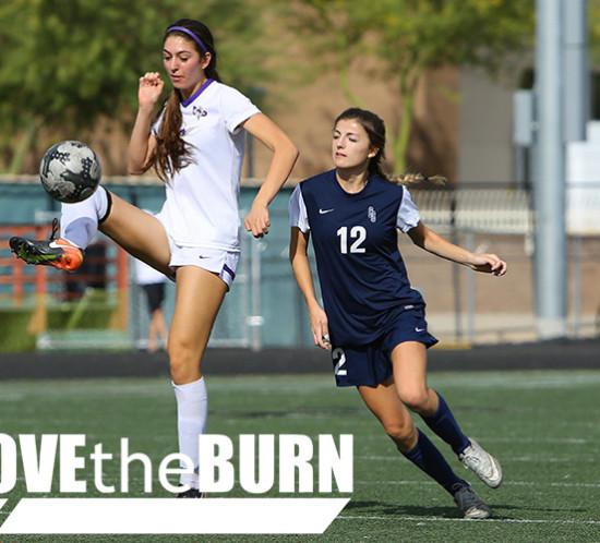 Notre Dame vs Cactus High School Girls Varsity Soccer