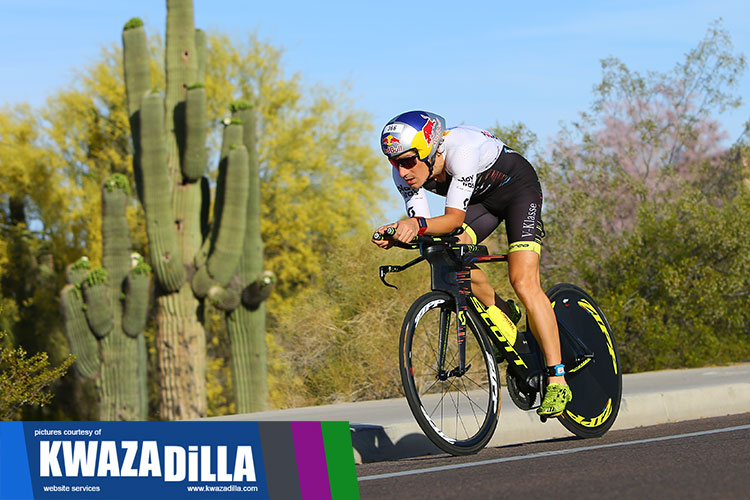 Sebastian Kienle at Cactus Man Triathlon 2018